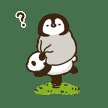 cute pengin2 sticker #9117725