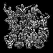 สติ๊กเกอร์ไลน์ Muscle in the darkness.