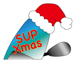Stand Up Paddle(SUP)Life2(Xmas &NewYear) sticker #9121259