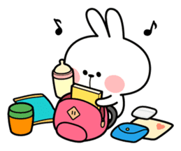 "Spoiled Rabbit ""DATE"" sticker #9123648"