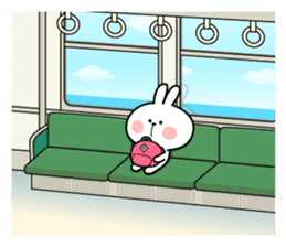 "Spoiled Rabbit ""DATE"" sticker #9123654"