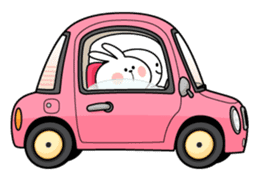 "Spoiled Rabbit ""DATE"" sticker #9123669"