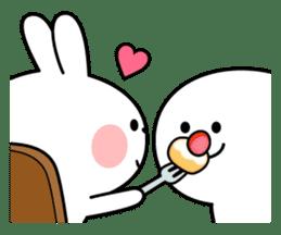 "Spoiled Rabbit ""DATE"" sticker #9123676"