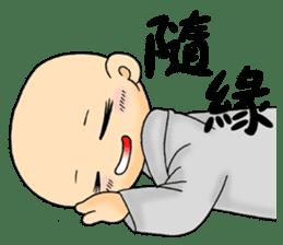 Little young monk part1 sticker #9123932