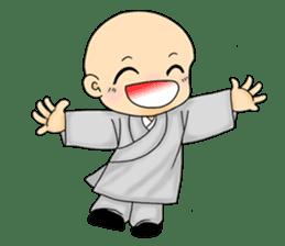 Little young monk part1 sticker #9123946