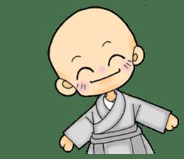 Little young monk part1 sticker #9123962