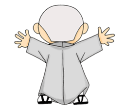 Little young monk part1 sticker #9123963