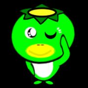 สติ๊กเกอร์ไลน์ Japanese monster KAPPA 2