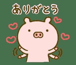 Pig Cute 4 sticker #9124609