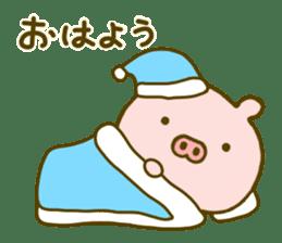 Pig Cute 4 sticker #9124610