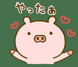 Pig Cute 4 sticker #9124618
