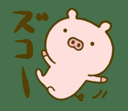 Pig Cute 4 sticker #9124620