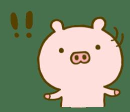 Pig Cute 4 sticker #9124621