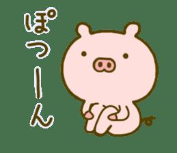 Pig Cute 4 sticker #9124623