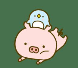 Pig Cute 4 sticker #9124625