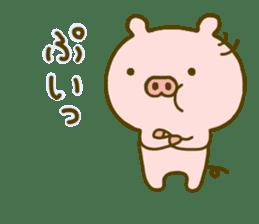 Pig Cute 4 sticker #9124626
