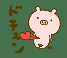 Pig Cute 4 sticker #9124628