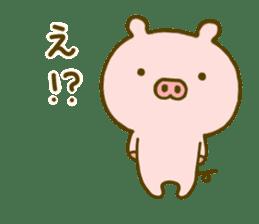Pig Cute 4 sticker #9124630