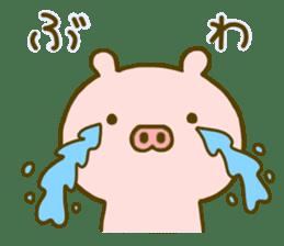 Pig Cute 4 sticker #9124631