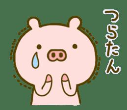 Pig Cute 4 sticker #9124633