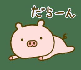 Pig Cute 4 sticker #9124634