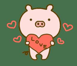 Pig Cute 4 sticker #9124637