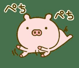Pig Cute 4 sticker #9124638