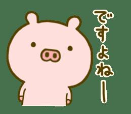 Pig Cute 4 sticker #9124640