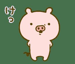 Pig Cute 4 sticker #9124643