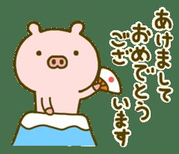 Pig Cute 4 sticker #9124644