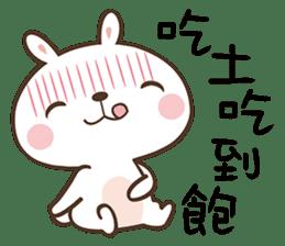 Butter Bunny sticker #9125092