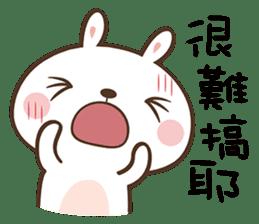 Butter Bunny sticker #9125109