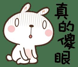 Butter Bunny sticker #9125120