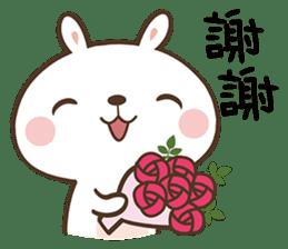 Butter Bunny sticker #9125122