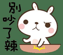 Butter Bunny sticker #9125124