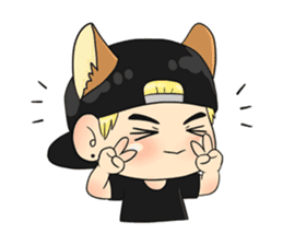 Son Puppy sticker #9128128