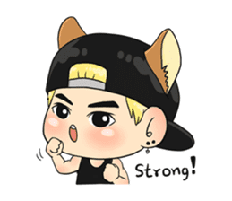 Son Puppy sticker #9128131