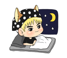 Son Puppy sticker #9128145
