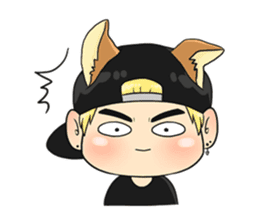 Son Puppy sticker #9128153