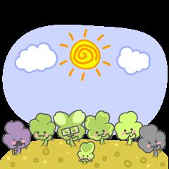 The Lucky Grass Family