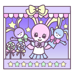 Rabbit's puppet theater