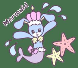 Rabbit's puppet theater sticker #9129129