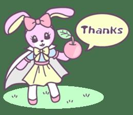 Rabbit's puppet theater sticker #9129133