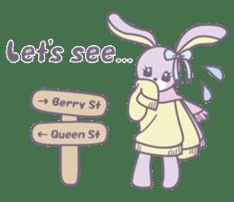 Rabbit's puppet theater sticker #9129140