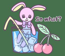 Rabbit's puppet theater sticker #9129141