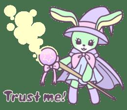 Rabbit's puppet theater sticker #9129142
