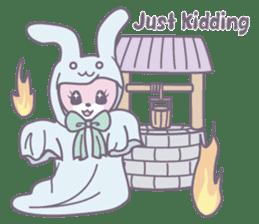 Rabbit's puppet theater sticker #9129145