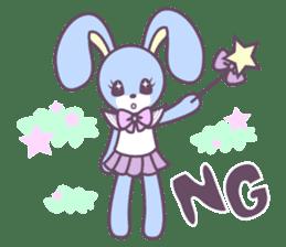 Rabbit's puppet theater sticker #9129149
