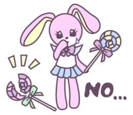 Rabbit's puppet theater sticker #9129151