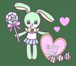 Rabbit's puppet theater sticker #9129154